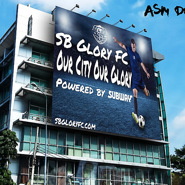 SB Glory FC Billboard