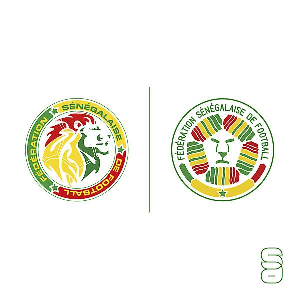 Senegal crest redesign