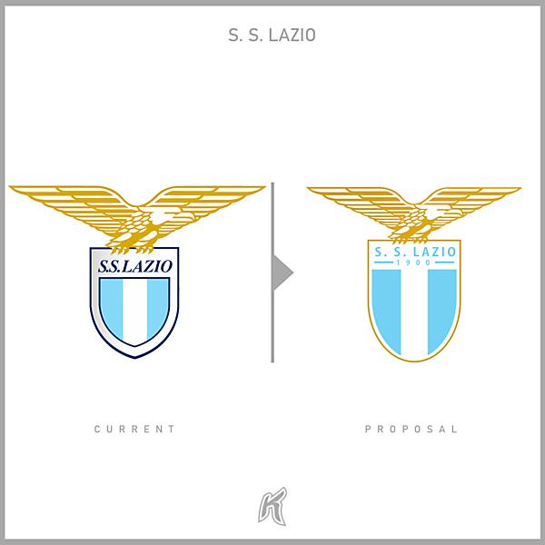 S.S. Lazio Logo Redesign