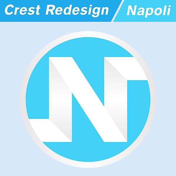 SSC Napoli Logo Redesign