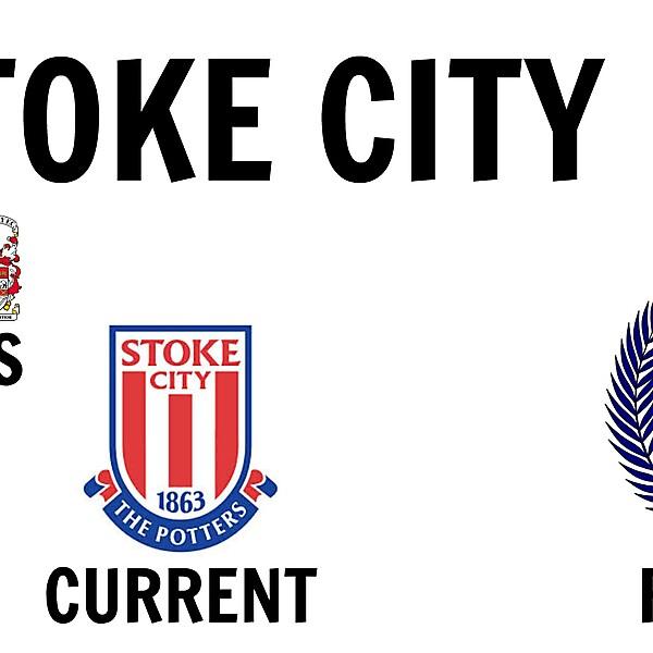 Stoke City FC New Crest Design