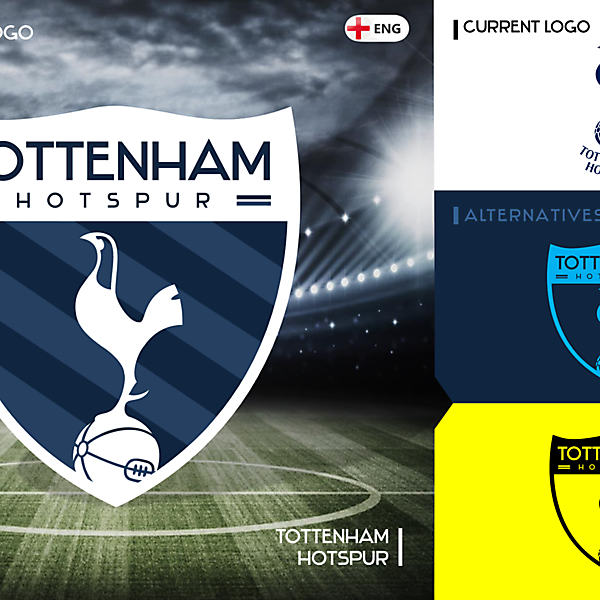 Tottenham Rebrand