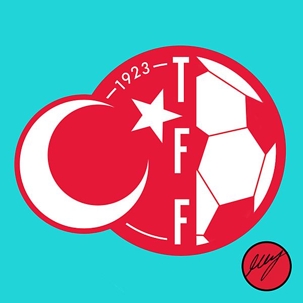 Turkey Football Federation Crest Redesign II