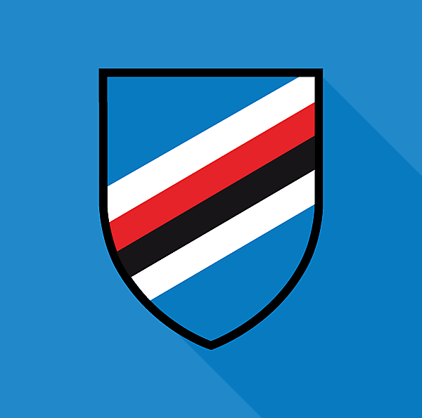 UC Sampdoria Logo (Minimalist)