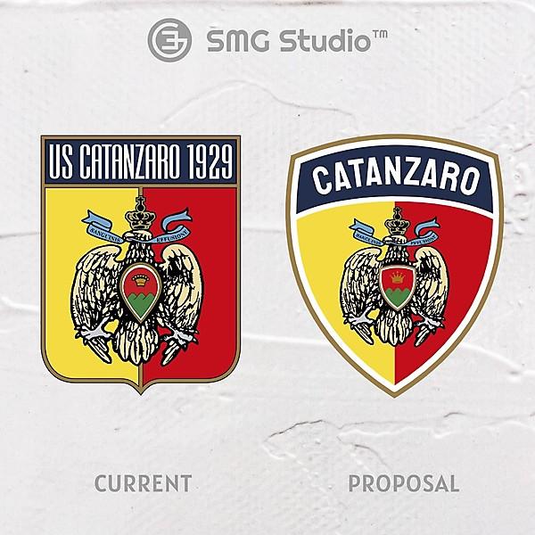 US Catanzaro - Crest Redesign