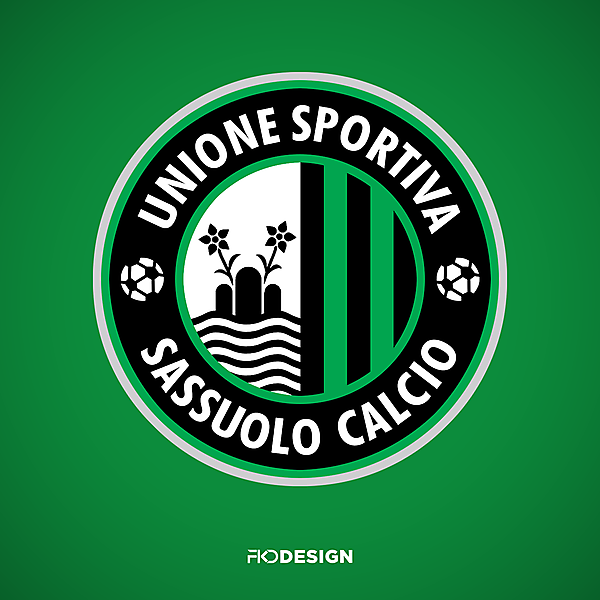 US Sassuolo   Crest Redesign