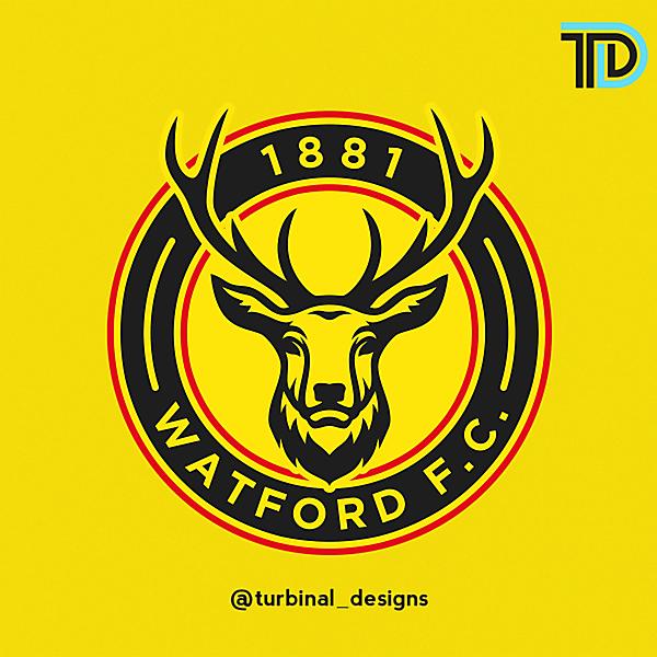Watford FC Crest Redesign