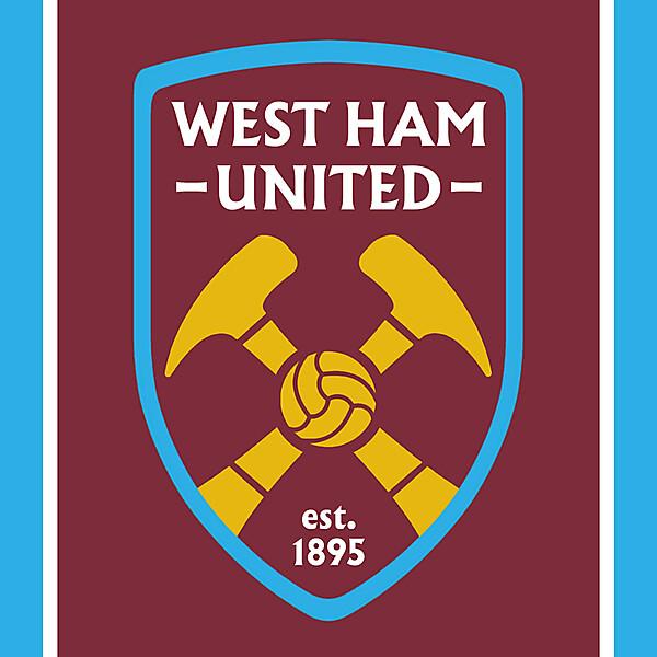 West Ham United - Redesign