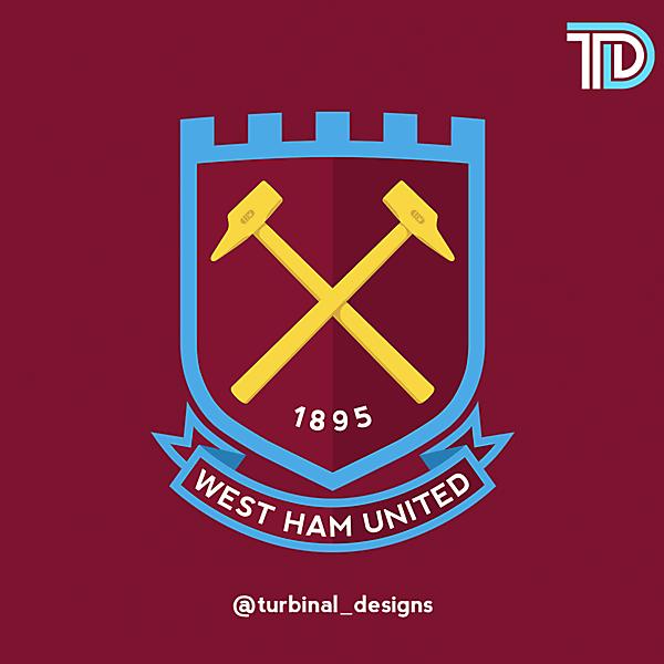 West Ham United Crest Redesign