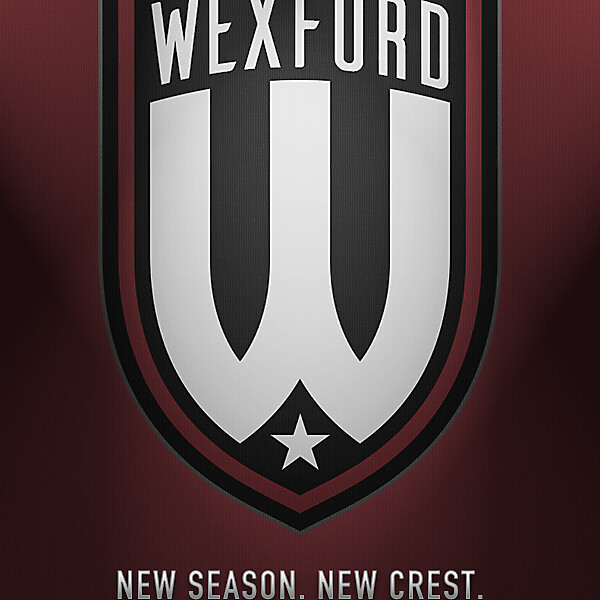Wexford FC new crest