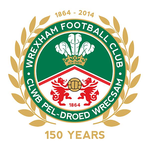 Wrexham FC 150 Year Anniversary
