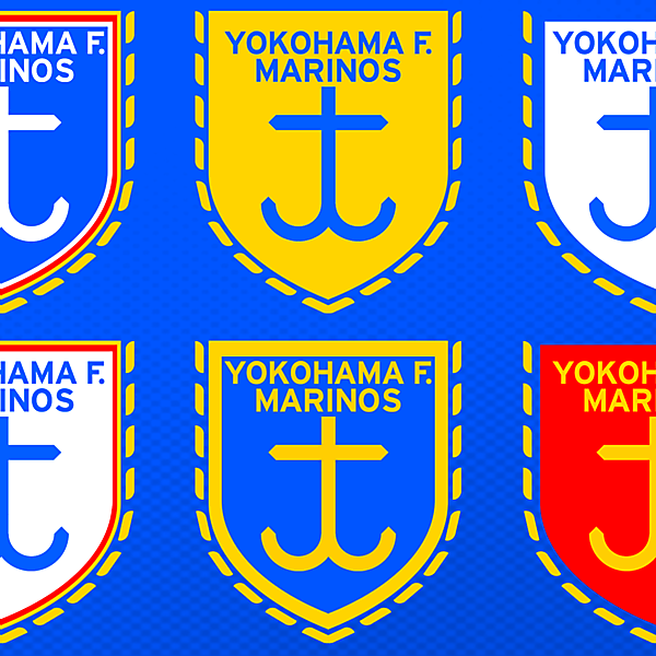 Yokohama F. Marinos Crest Colourways