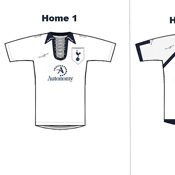 Tottenham Hotspurs 2011/12 Aequix Home Kits