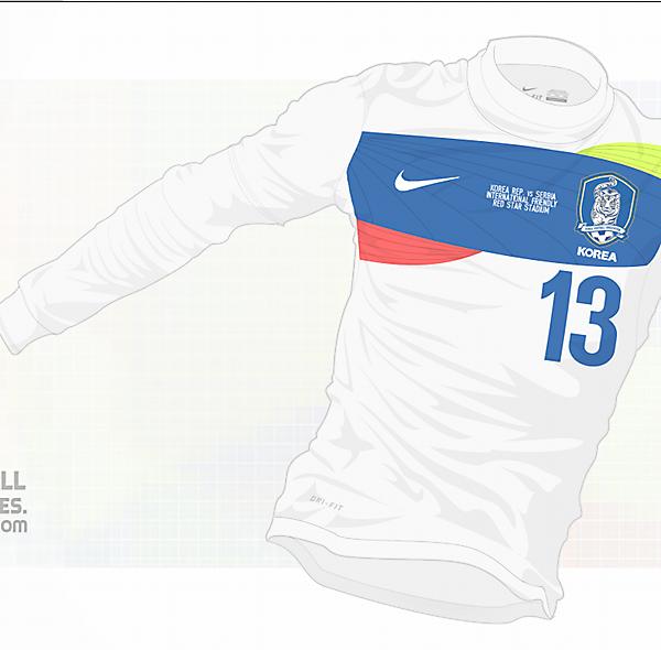 2014 Korea Away Shirt