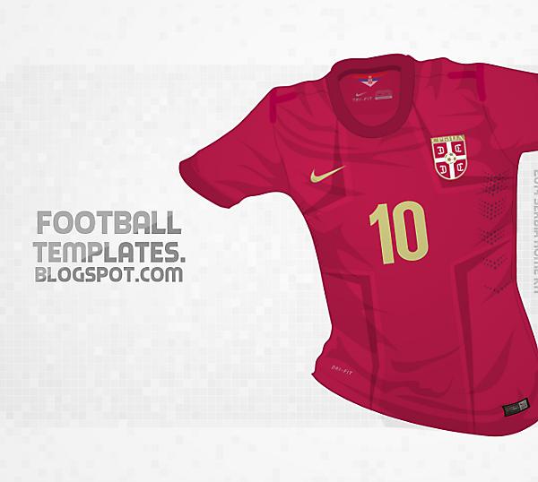 2014 Nike Serbia Kit