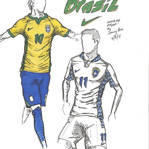 2014 World Cup Project by Irvingperceni - Group A - Brazil