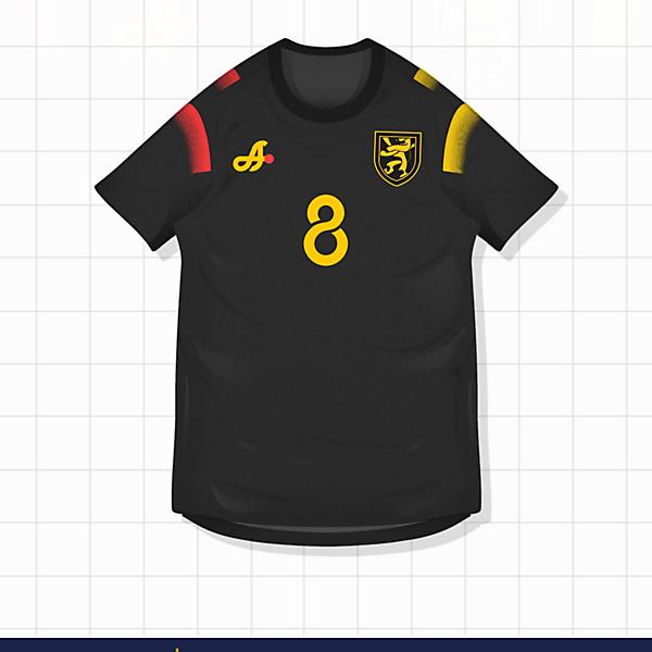 2018 Belgium Away Kit by ASTRO