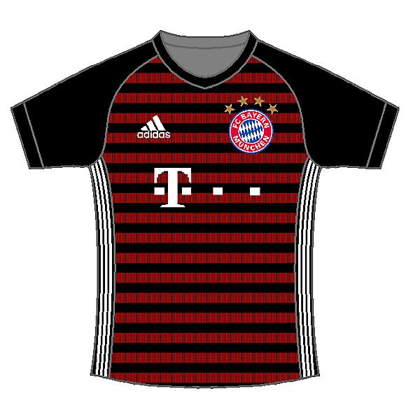 ⬛? Bayern Munich away kit