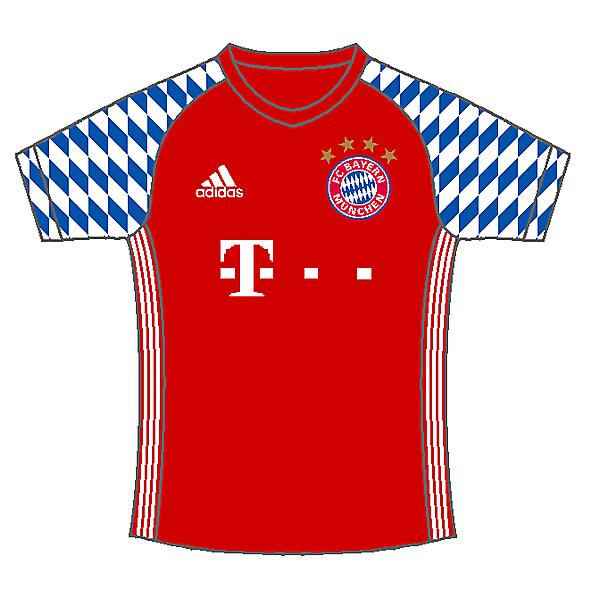 ? Bayern Munich home kit