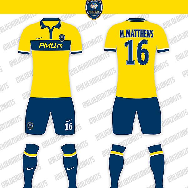FC Peageois Home Kit