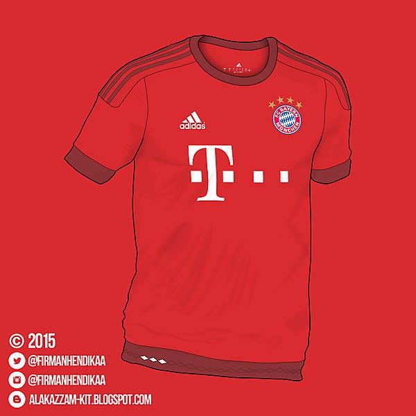 ( Free Template) Adidas Bayern Munchen