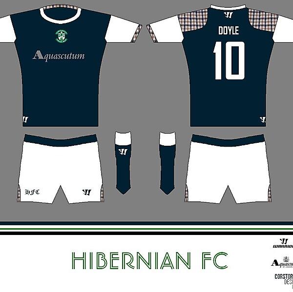 Hibernian FC Aquascutum Home
