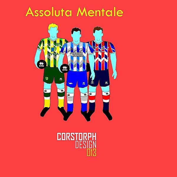 Errea Assoluta Mentale by Corstorph Design