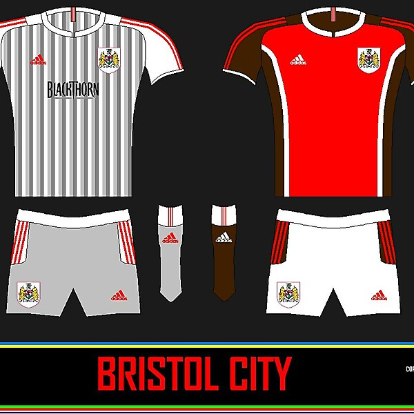 Bristol City Away + Home