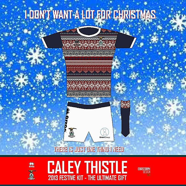 Inverness Caledonian Thistle Festive Kit 2013/14
