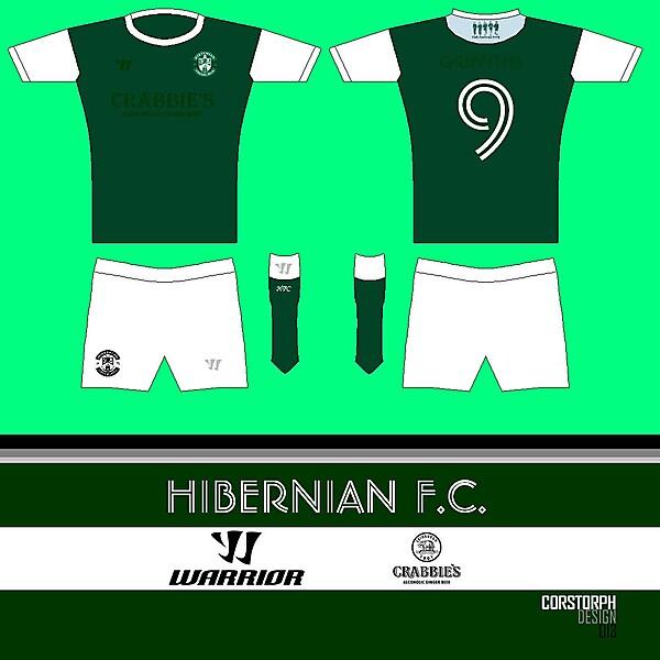 Hibernian FC Famous Five Home