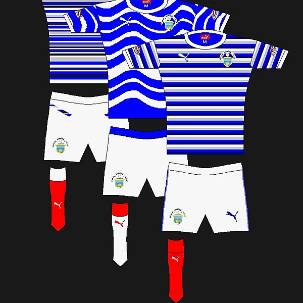 Three Puma Morton kits