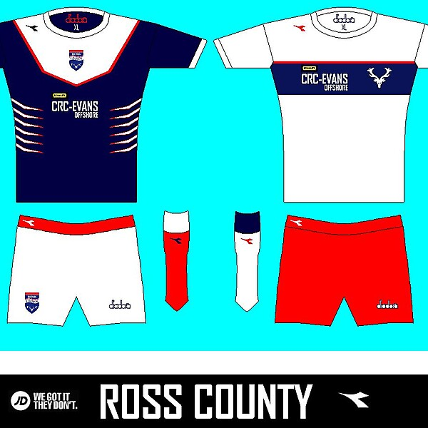 Ross County 13/14