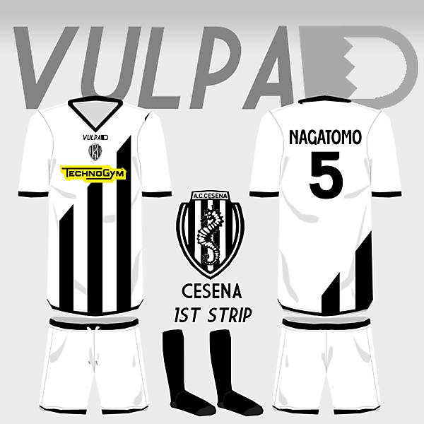 AC Cesena Home Shirt