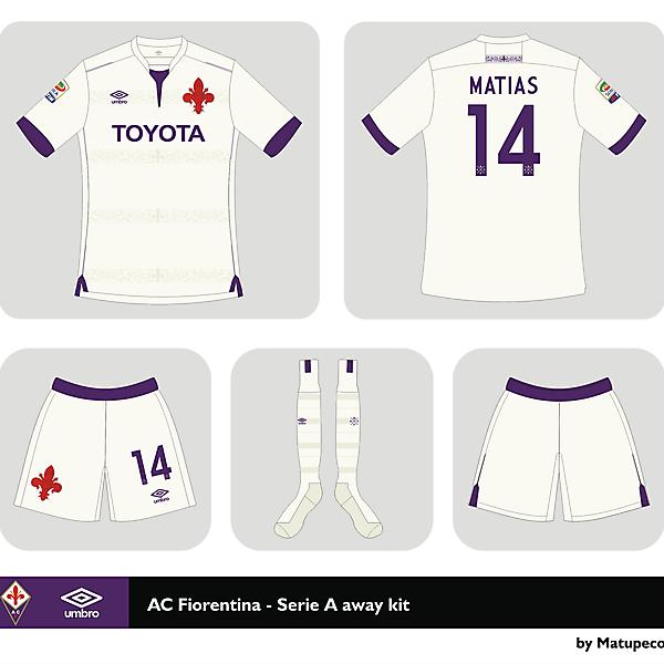 AC Fiorentina away kit Serie A