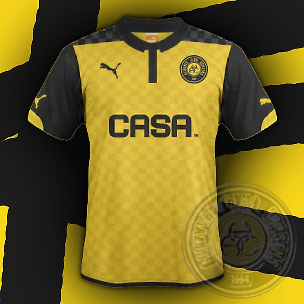 AC Horsens home (based on my crest redesign for CRCW)
