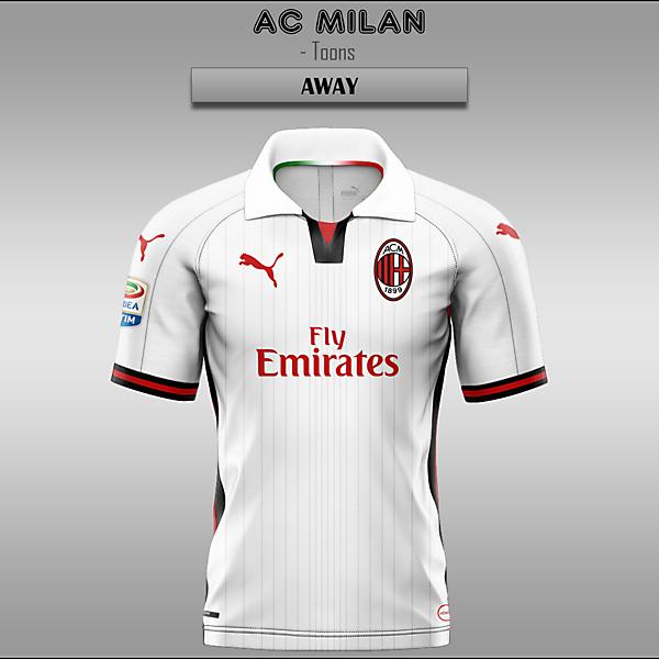 AC Milan -- Home/Away/Third