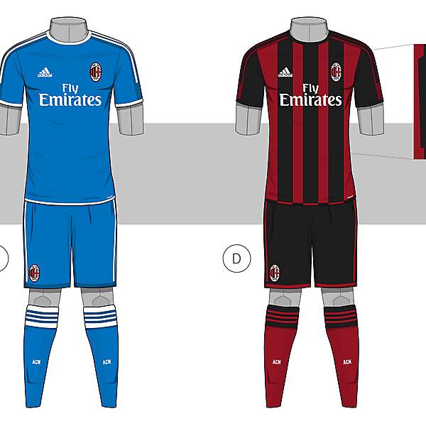 AC Milan - Home & GK