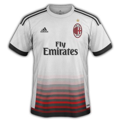 AC Milan 2015/16 Away Kit