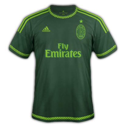 AC Milan 2015/16 Third Kit