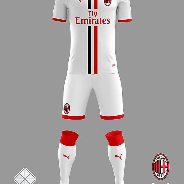 AC Milan 2018/2019 Away Kit