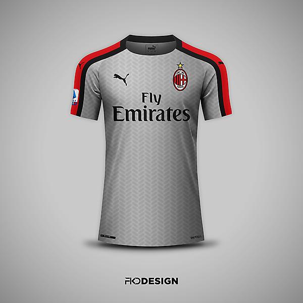 AC Milan   Puma   Away
