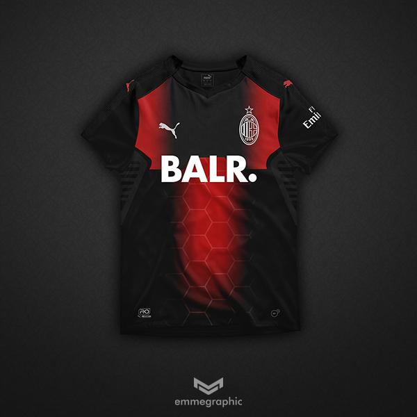 AC Milan   Puma X BALR.