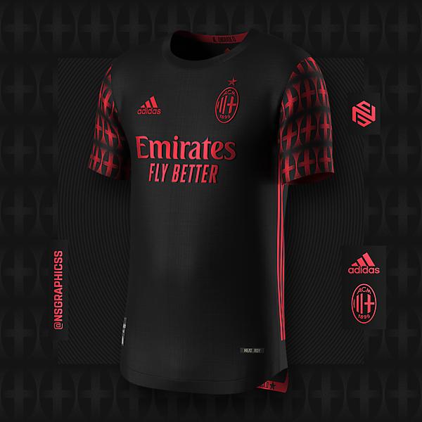 AC Milan Away Concept x adidas x NS