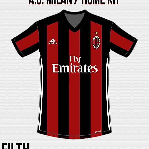 A.C. Milan Home Kit