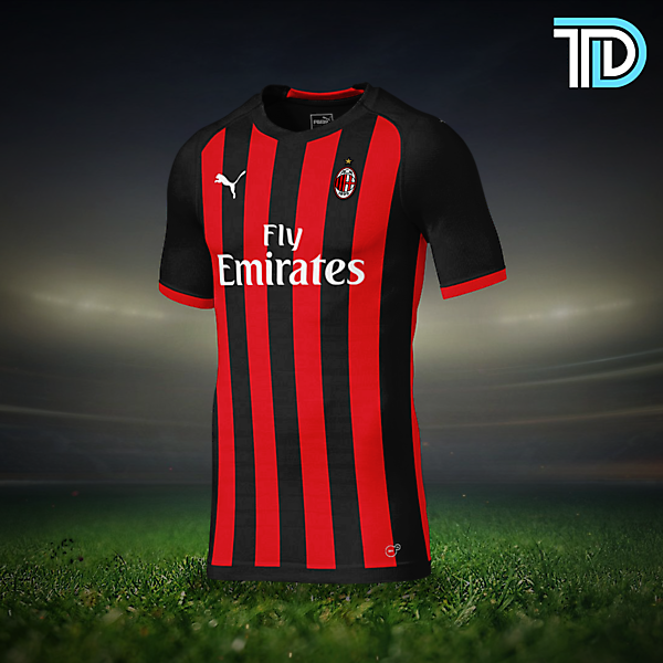 AC Milan Home Kit Concept