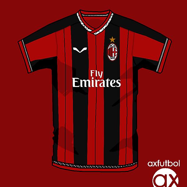 AC Milan home shirt own design