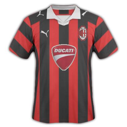 A.C.Milan Home Shirt