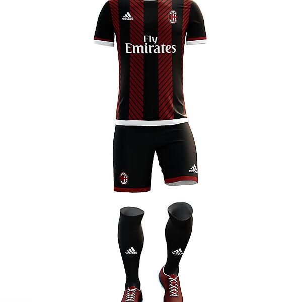 AC Milan kit 16/17