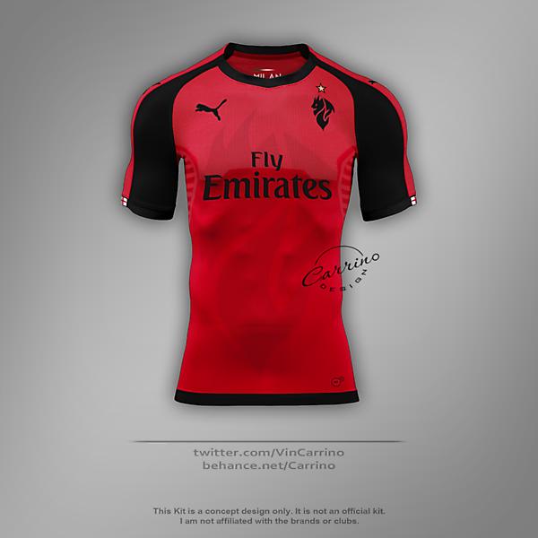 AC Milan Third Shirt | Concept Design