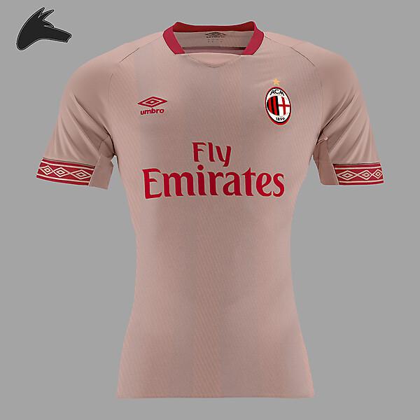 AC Milan x umbro away